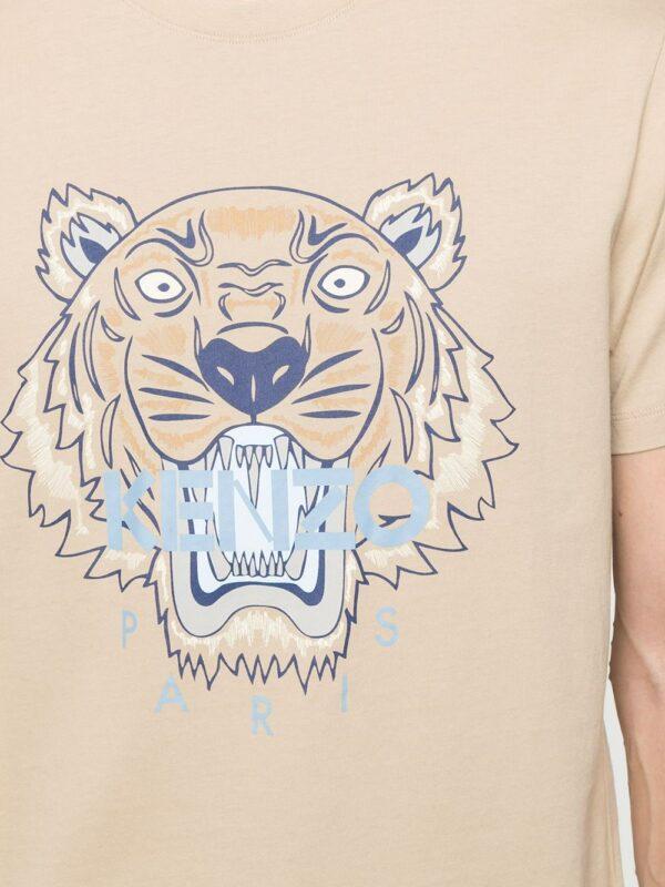 Kenzo t-shirt à motif Tigre