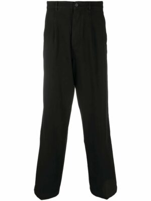 Kenzo pantalon à coupe droite