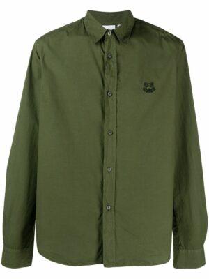Chemises chemise à logo brodé