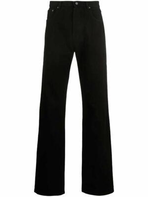 Jeans jean droit à poches multiples