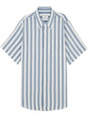 AMI Paris chemise ample à rayures