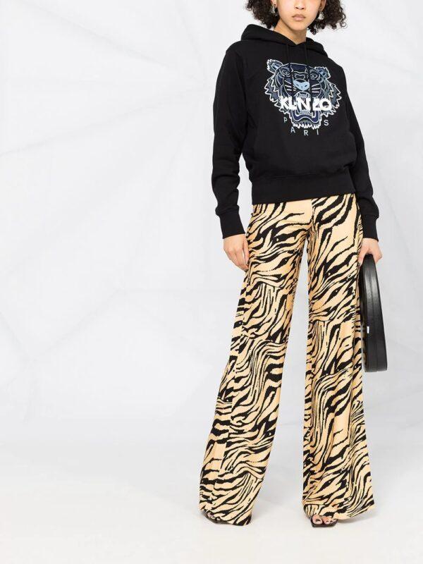 Hauts hoodie Tiger à logo brodé