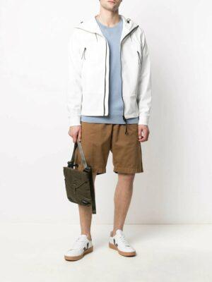 CP Company veste à capuche blanche