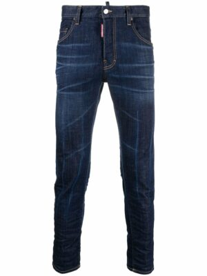 Dsquared2 jean skinny à taille normale