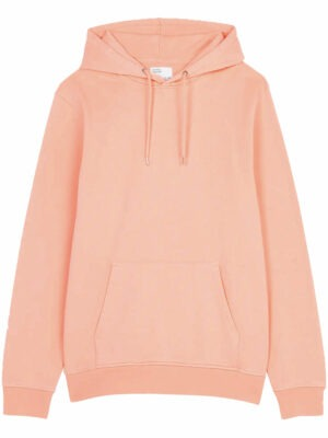 Colorful Standard Classic Organic Hood – Bright Coral