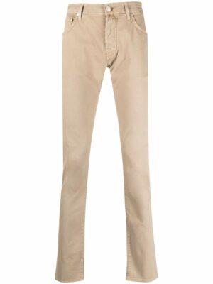 Jacob Cohen jean slim à taille haute