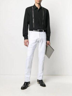 Chemises chemise à zip