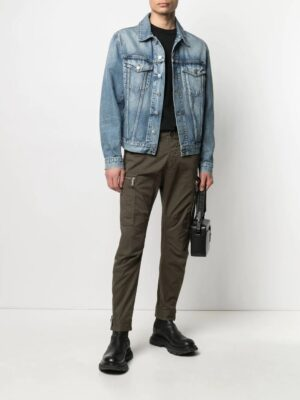 Dsquared2 pantalon slim à poches cargo