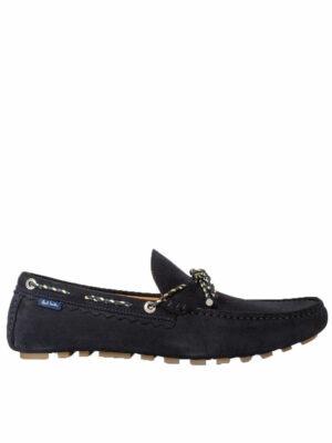 Chaussures mocassins à détail de nœud