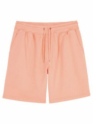 Colorful Standard classic organic sweatshorts – bright coral