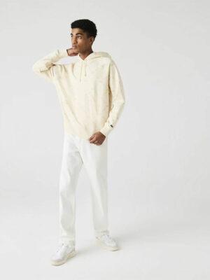 Lacoste Live Sweatshirt à capuche unisexe Lacoste LIVE ample coton monogramme