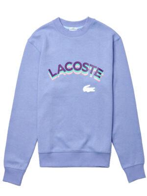 Lacoste Live Sweatshirt unisexe Lacoste LIVE à col rond avec marquage
