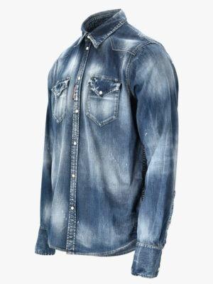 Chemises chemise en denim