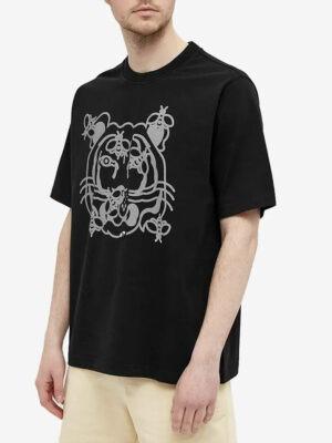Kenzo T-shirt de skate Bee A Tiger