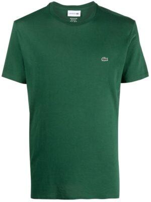 Lacoste Live T-shirt col rond en jersey de coton pima uni