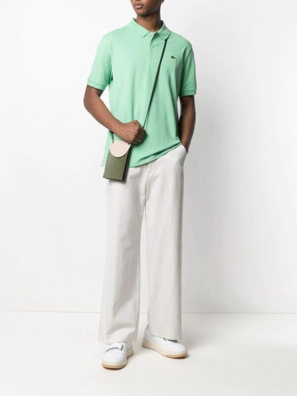 Lacoste Live Polo unisexe Lacoste LIVE standard fit en piqué de coton stretch