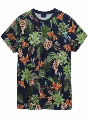 Gant t-shirt à imprimé humming garden