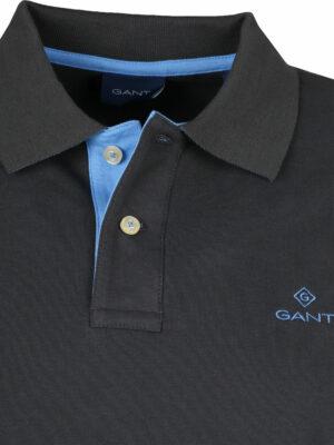 Gant polo Rugger en coton piqué à col contrastant