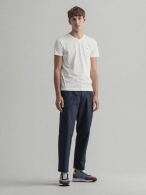 Gant T-shirt col V slim fit Original