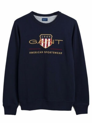 Gant Archive Shield Crew Neck Sweatshirt