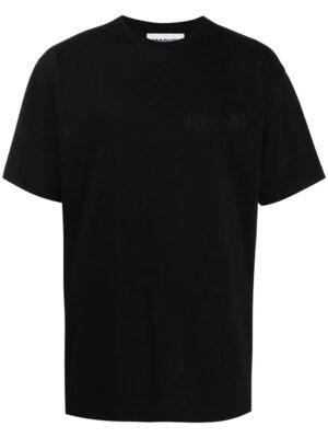 Men t-shirt à logo brodé