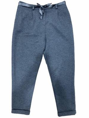 Jean Pantalon en coton avec ruban fantaisie