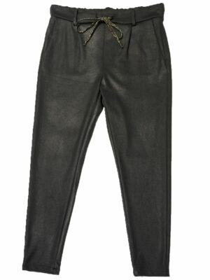 Jean Pantalon en polyester avec ruban fantaisie