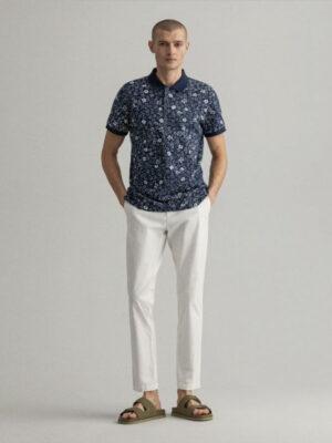 Gant Polo Rugger en coton piqué à imprimé Freedom Flower