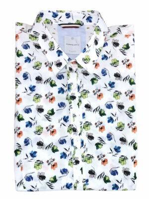 Chemises Chemise manches longues à motifs