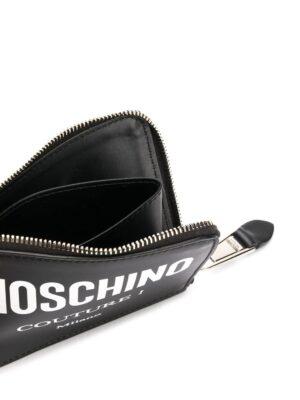 Accessoires portefeuille zippé Couture à logo