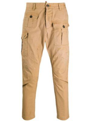 Dsquared2 pantalon fuselé à poches cargo