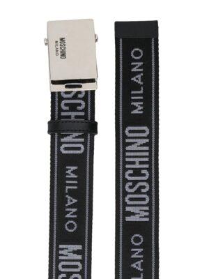 Accessoires ceinture à logo en jacquard