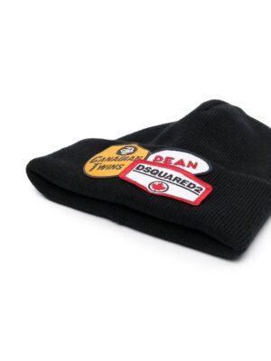 Accessoires bonnet à patch logo