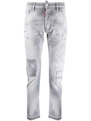 Dsquared2 jean skinny à taille basse