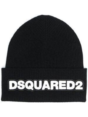 Accessoires bonnet nervuré à patch logo