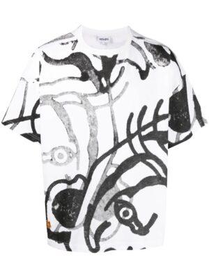 Braderie t-shirt K-Tiger à imprimé graphique