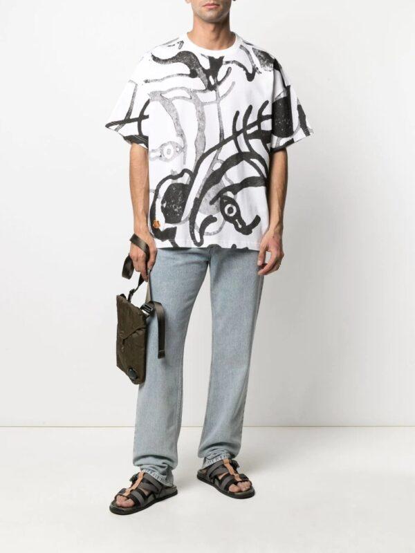 Kenzo t-shirt K-Tiger à imprimé graphique
