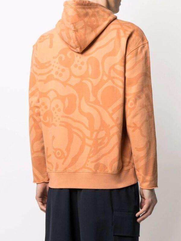 Kenzo hoodie à motif Tiger Signature
