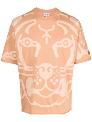 Kenzo t-shirt à imprimé K-Tiger