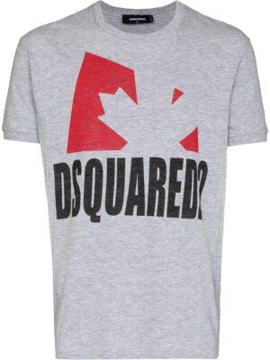 Dsquared2 t-shirt à imprimé feuillage