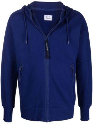 CP Company hoodie zippé à lien de resserrage