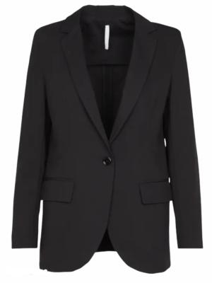 Imperial veste col tailleur noir