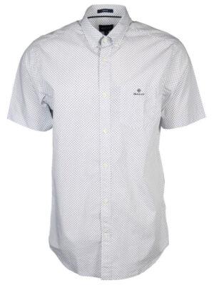 Gant Chemise à micro-pois à manches courtes et coupe regular