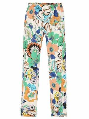 Imperial Pantalon ample à motif floral