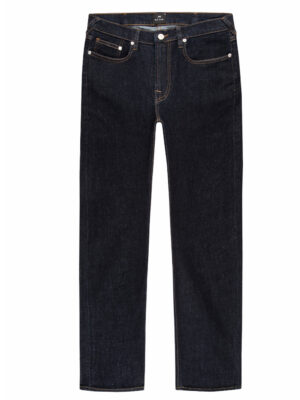 Jeans jean indigo coupe slim effet rincé