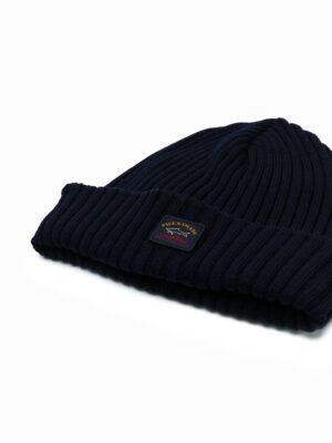 Accessoires bonnet à tricot nervuré