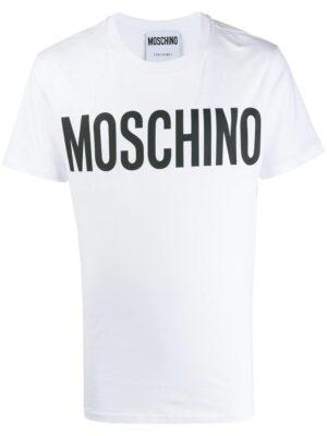 Men t-shirt à logo imprimé