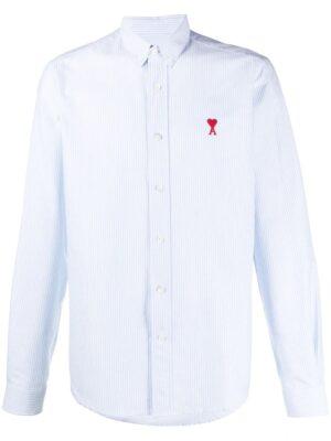AMI de cœur chemise à logo brodé