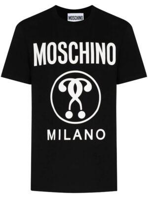 Men t-shirt à logo imprimé sur le devant