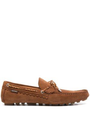 Chaussures mocassins en daim